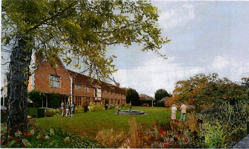 Artists impression of the proposed East Garden