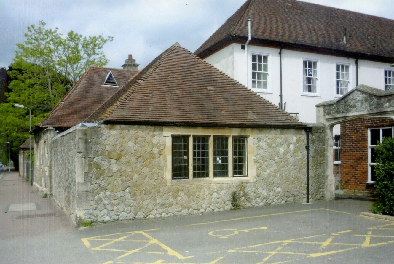 The proposed new Wye Heritage Centre on the High Street, Wye