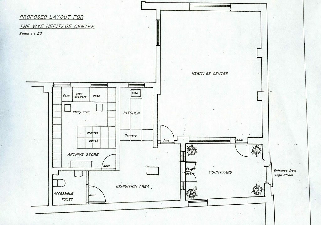 The proposed new Heritage Centre – layout drawing