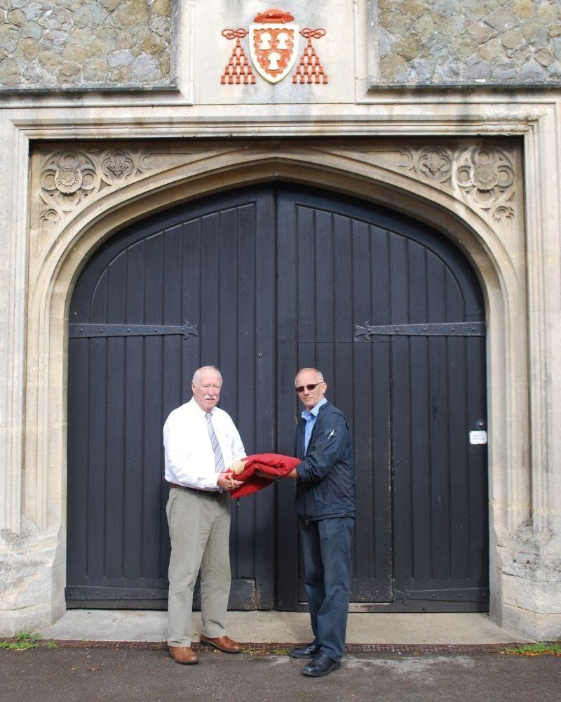 Wye College flag donation 4x5